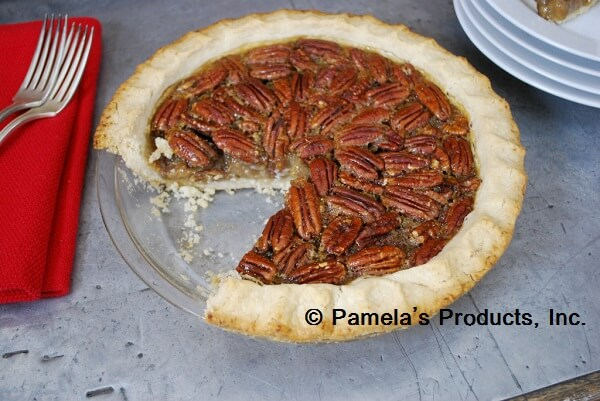 Maple Syrup Pecan Pie with Old-Fashioned Pie Crust - The Gluten Free ...